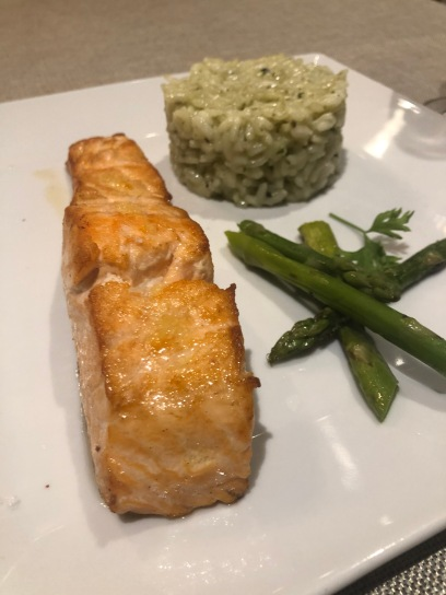 Salmon G-Wine (Zero Forks Given)