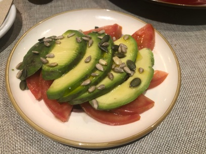 Avocado and Tomatoes G-Wine (Zero Forks Given)